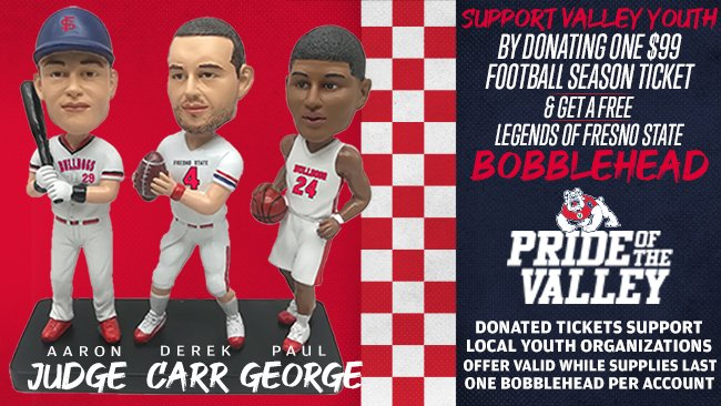 Legends of Fresno State Bobbleheads