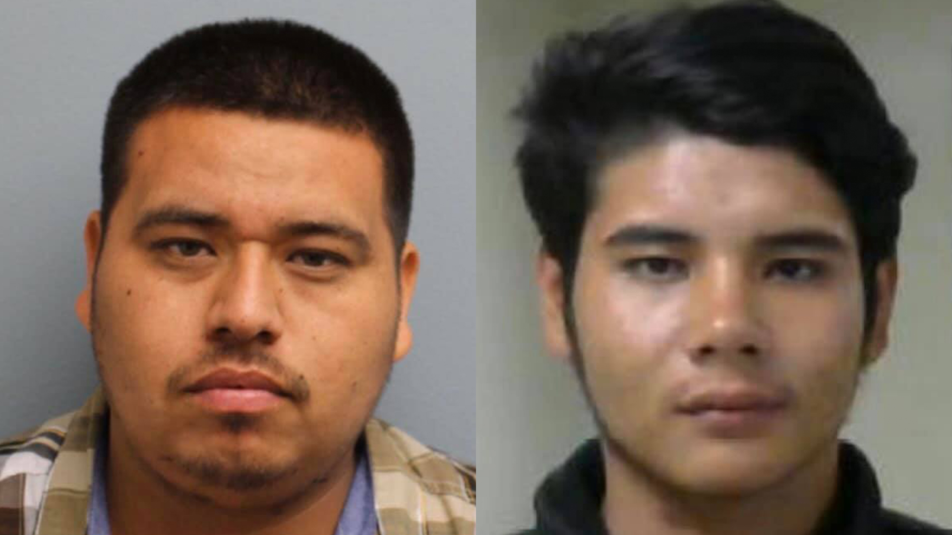 "29-year-old Javier ""Balls"" Ibarra (left) and 19-year-old Roman ""La Nina"" Salcedo (right), both of Visalia"