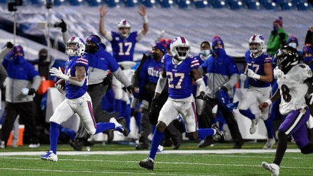 Taron Johnson makes 'franchise altering play' as Bills punch their ticket  to AFC Championship game | YourCentralValley.com