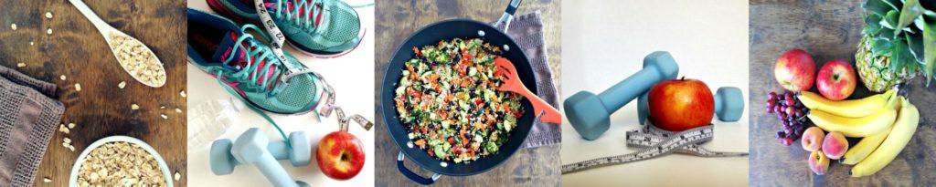Healthy Habits Collage