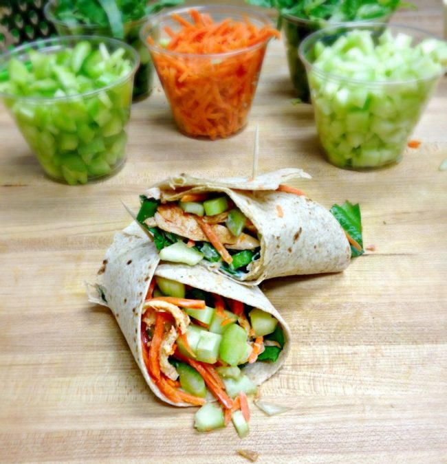 These Healthy Buffalo Chicken Wraps are great alternative to fast food crispy chicken wraps!