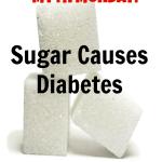 Myth Monday: Sugar Causes Diabetes