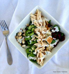 Chicken Salad Sandwich Bowl