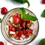 Cherry Mint Salsa