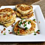 Loaded Potato Latkes