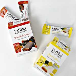 Extend Nutrition Bars: A No Crash Snack