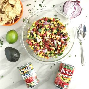 Tomato, Corn & Avocado Salad