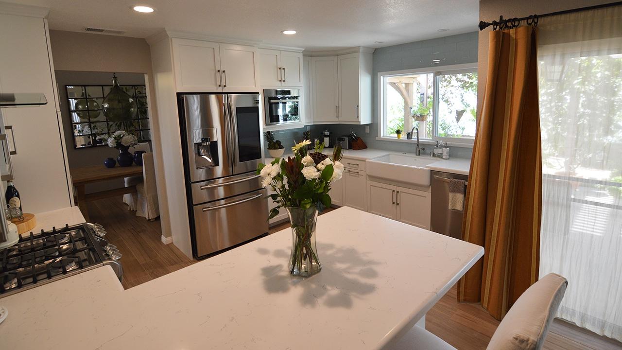 Modern Kitchen Remodel in Moreno Valley, California on Kitchen Remodel Modern  id=23843