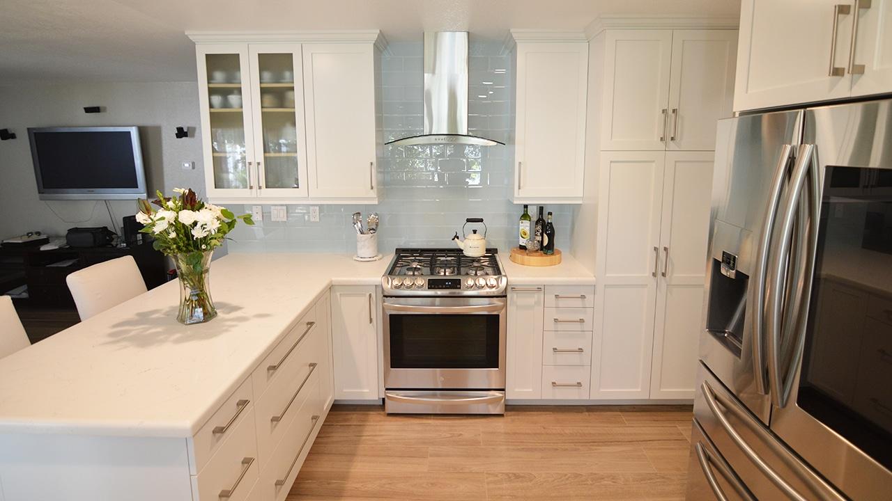 Modern Kitchen Remodel in Moreno Valley, California on Kitchen Remodel Modern  id=26117