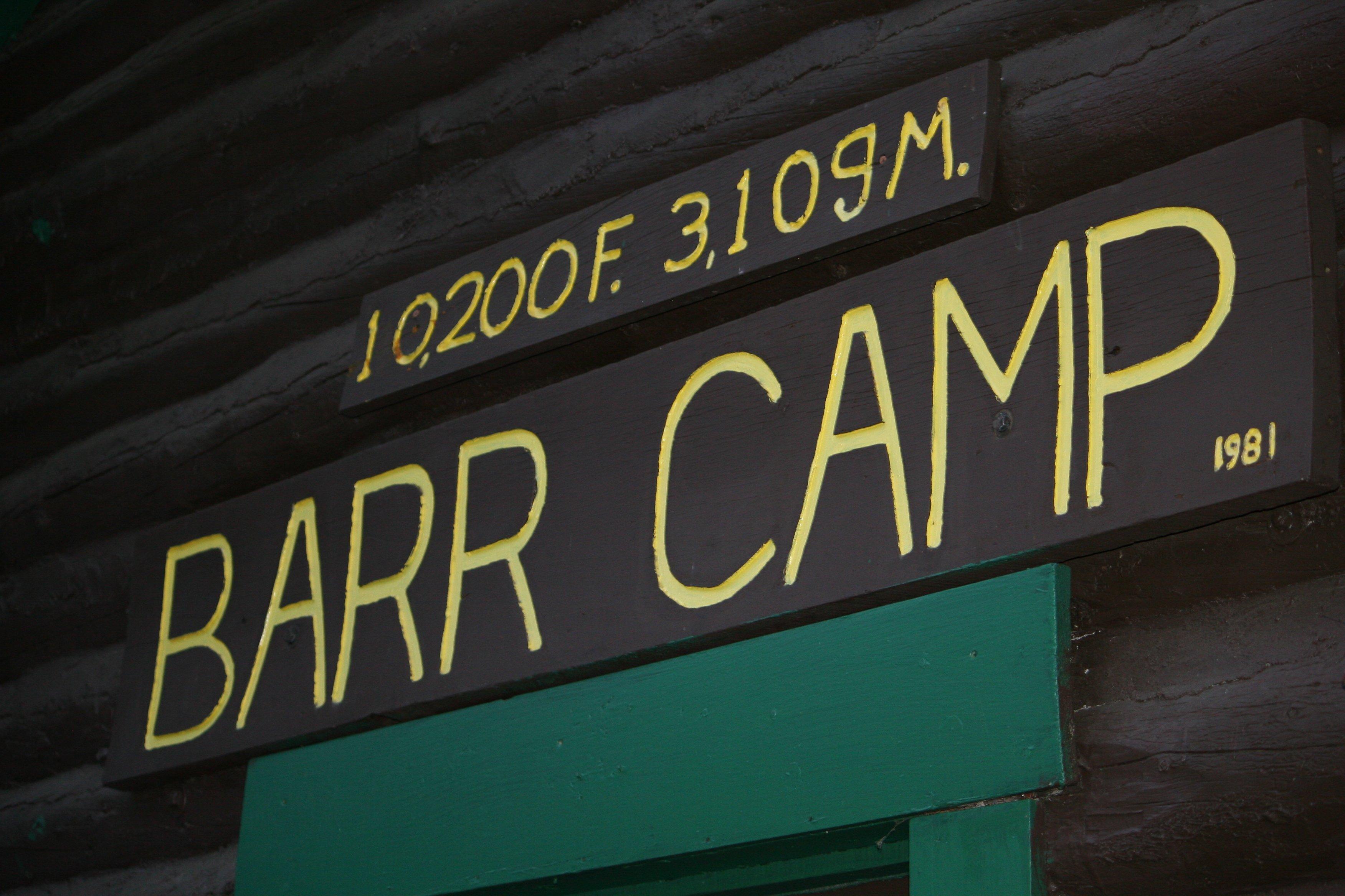 Barr camp Barr Trail Pikes Peak