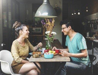 condo living young couple