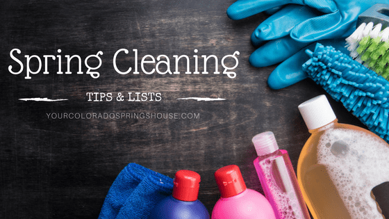 Spring Cleaning Tips and Lists