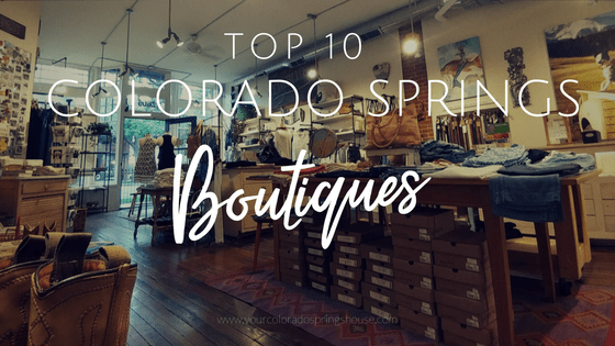 Top Ten Colorado Springs Boutiques