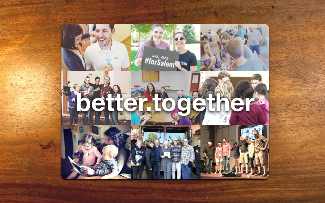 Better Together: Lean On Me (Pt 2)