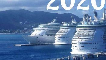 Photo of 3 cruise ships
