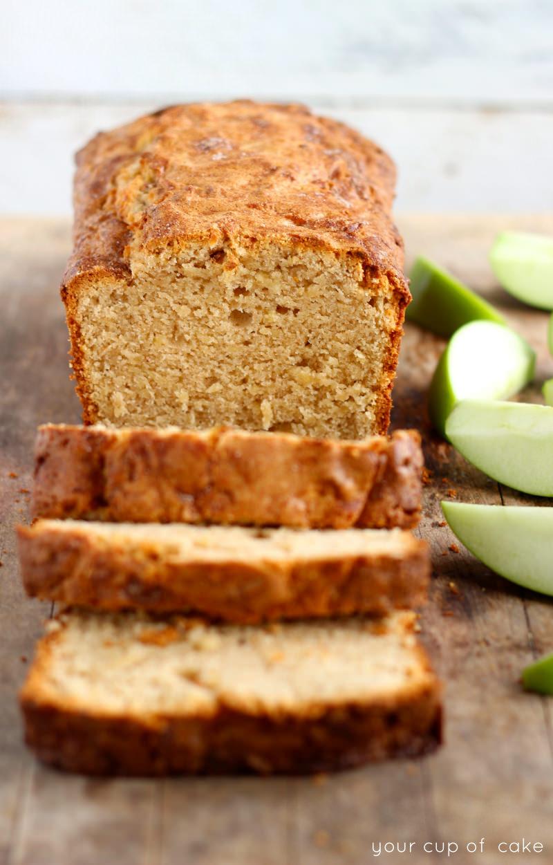 Shredded Apple Cake Recipe