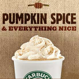 Image result for pumpkin latte
