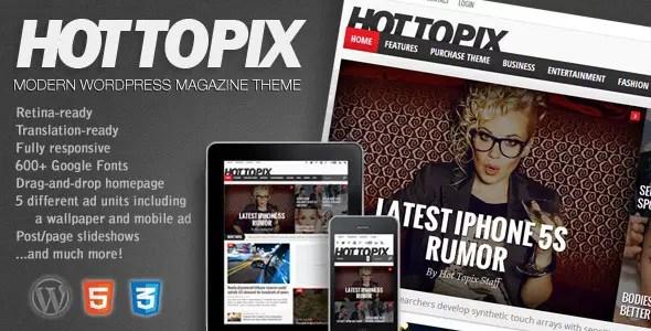Hot Topix WordPress Theme
