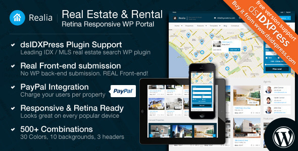 Realia WordPress Theme