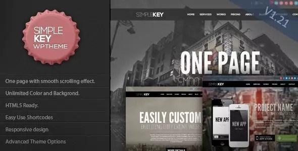 SimpleKey WordPress Theme