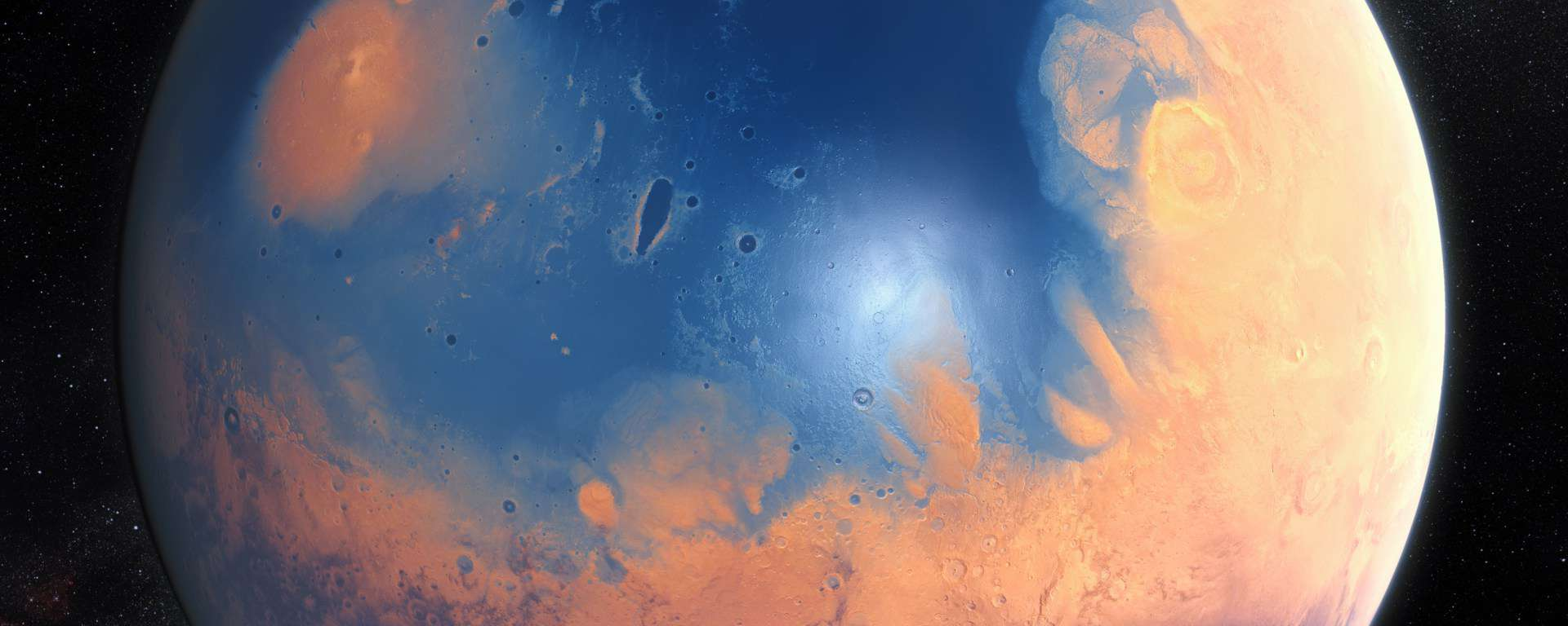 Guarding Mars with a Magnetic Shield