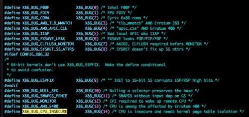 Kernel Vulnerability Within Intel Processors