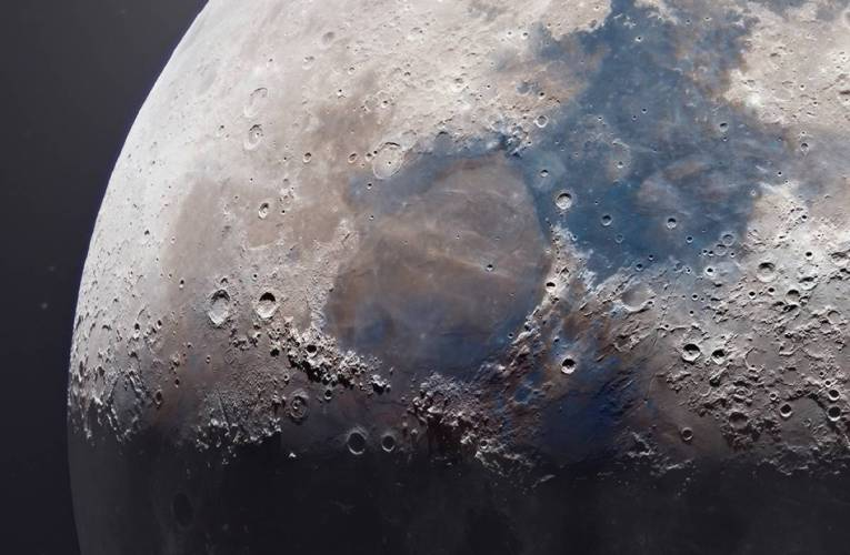 Amazing 85-Megapixel Image Of Moon From Backyard Photographer