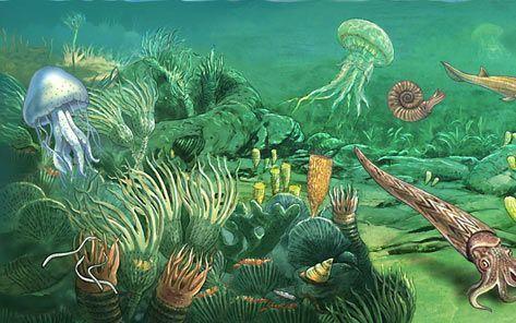 PALEOZOIC ERA the true origin of life Dinosaurs