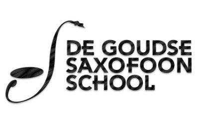 Logo De Goudse Saxofoon school