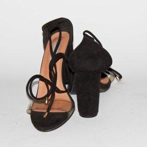 sandale femme talons carré