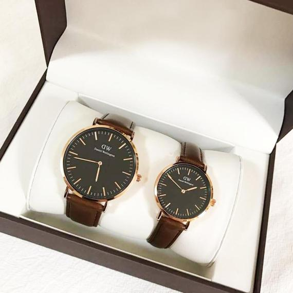 Daniel Wellington Montre couple Bristol youreleganceshop