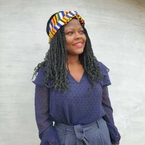 headband wax african style