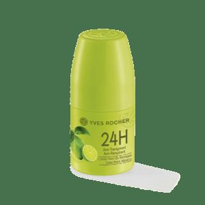 déodorant anti transpirant citron vert du mexique