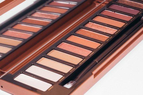 palette ombre à paupière naked heat