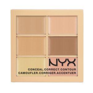 concealer correcteur nyx mini palette