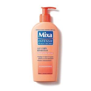 lait-corps-réparateur-mixa-peau-sèche