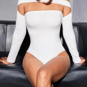bodysuit skinny body noir sexy femme dakar blanc