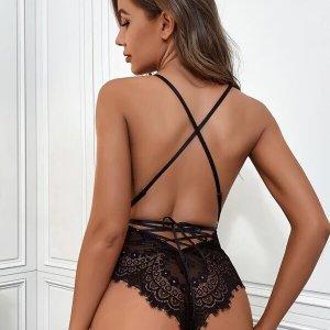 bodysuit sexy dentelle femme