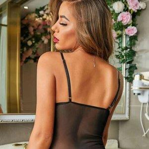 body lingerie noir dentelle sexy