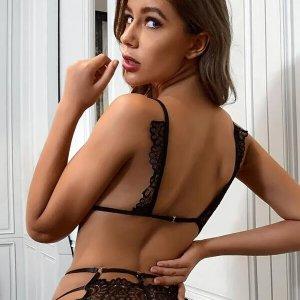 lingerie sexy ensemble dentelle noir