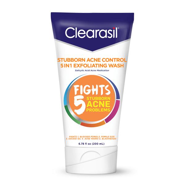 nettoyant visage exfoliant anti acne