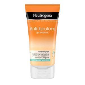gel exfoliant anti bouton neutrogena