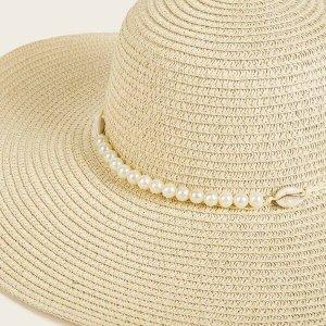 chapeau de plage en paille femme