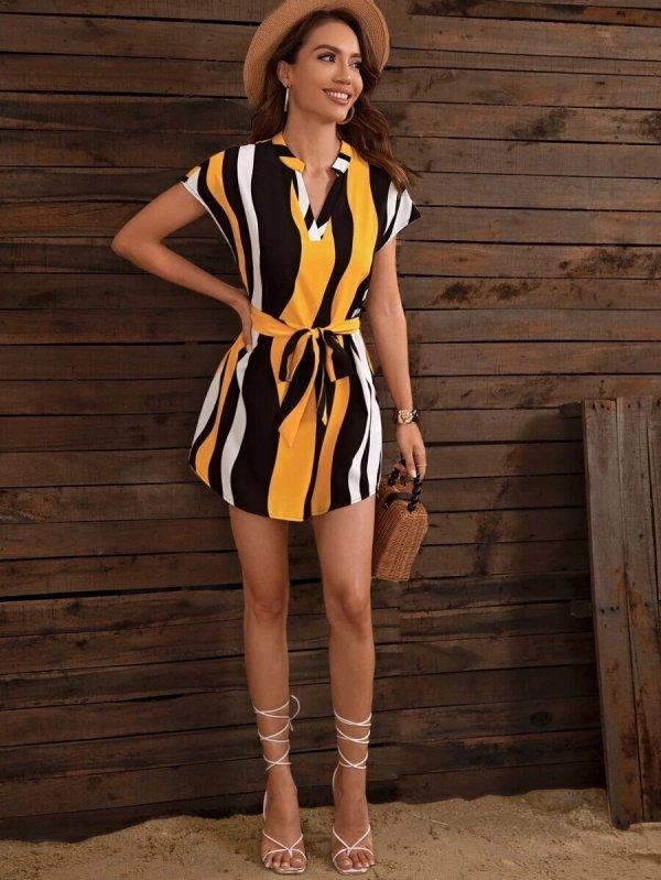 robe courte plage tendance