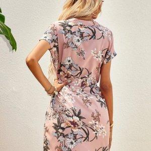 robe femme fleurie tendance été