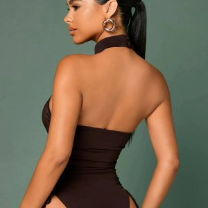 bodysuit sexy dos nu femme