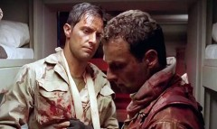 Richard Armitage and Andrew Lincoln in a scene from Strike Back: Origins