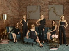 THE REAL HOUSEWIVES OF NEW YORK CITY -- Season:6 -- Pictured: (l-r) Heather Thomson, Sonja Morgan, Ramona Singer, Kristen Taekman, Carole Radziwill, and Aviva Drescher