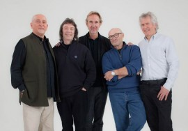 Genesis - Peter Gabriel, Steve Hackett, Mike Rutherford, Phil Collins, and Tony Banks in  Genesis - Sum of the Parts
