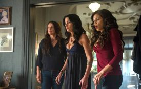 The Beauchamp women can't believe their eyes, nor will audiences by the end of the episode.
